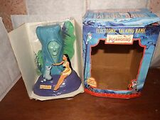 RARE Disney Pocahontas interactive money box bank Grandmother Miko talking moves