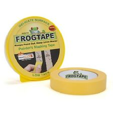FROG TAPE DELICATE SURFACE MASKING TAPE 36mm X 41.1m ROLL YELLOW