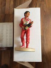 F1 Endurance Ayrton Senna Figur 1:9 Rot Limited Edition Rariität
