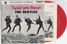 The Beatles Japan EP Twist & Shout Odeon EAS-30014 MONO RED VINYL