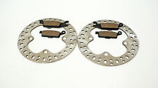2007 2008 2009 2010 YAMAHA YFM700 700 GRIZZLY REAR BRAKES BRAKE PADS & ROTORS