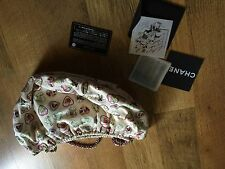 Very Rare Chanel Run Way Purse Used Twice W/authentic Card, Dust Bag And Box