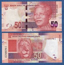 South Africa 50 Rand P 135 ND (2012) UNC Low Shipping! Combine FREE!