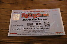 TICKET ROLLING STONE ROAD SHOW 2000 GERMANY