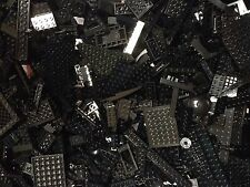 Lot Of 400 Random BLACK Lego Pieces & Parts / Bulk BLK LEGO Bricks