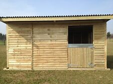 12x16 mobile field shelter stable delivery £1 mile one way from pe321dd