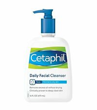 2 Pack - Cetaphil Daily Facial Cleanser Normal to Oily Skin, 16 oz Each