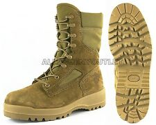 US Military Bates USMC Marine HOT WEATHER DESERT COMBAT BOOTS Coolmax 6.5N