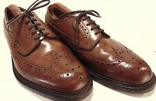 """""""LOAKE"""" HANDMADE CALF LEATHER BROGUES """"BRAEMAR"""" SIZE 8. IN SUPERB CONDITION"""