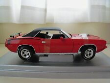 AMERICAN MUSCLE - (1 OF 2500) - 1970 PLYMOUTH HEMI 'CUDA (RED)  - 1/18 DIECAST
