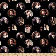 Camelot Harry Potter Digital Characters Circles 100% cotton fabric by the yard