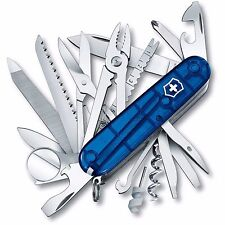 Victorinox Swiss Army Knife, Swisschamp, Sapphire, Victorinox 53507, New In Box