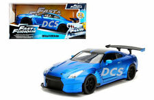 JADA FAST AND FURIOUS 2009 NISSAN GT-R R35 BEN SOPRA BLUE 1/24 DIECAST CAR 98271
