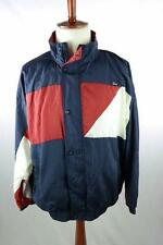 Vtg 90s CHRISTIAN DIOR MONSIEUR Full Zip Lined Nylon Track Windbreaker Jacket L
