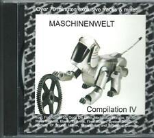 MASCINENWELT COM IV CD inustrial HITLINE FINAL ILLUSION  GODS DIE LATER