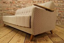 60s VINTAGE SOFA DAYBED DANISH SOFABED BED COUCH SETTEE RETRO flying armrests
