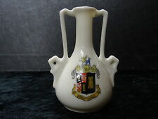 China Model of a 2 Handled Vase with Brentwood Crest.