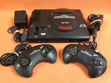 Sega Genesis Model 1 System Console Official Controller X2 Bundle Fast FREE SHIP