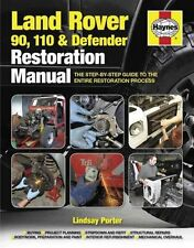 Land Rover 90. 110 & Defender Restoration Manual by Lindsay Porter 9780857334794