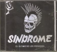 SINDROME - El Ultimo De Los Podridos ( Punk Rock Mexicano ) CD Mexican Edition