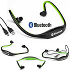 Stereo Headset Bluetooth Wireless Headphone Sport for iPhone HTC Samsung LG