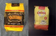 Yaucono / Crema Brand Coffee from Puerto Rico, 1 pair - 14 oz each