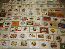 HUGE WHOLESALE LOT - 1,050 Old Antique Inner CIGAR BOX LABELS - 105 Different