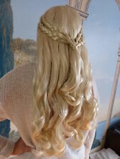 Danaria Khaleesi Perruque Blonde longue Tresses Game de Thrones Daenerys