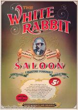 POSTER : LIQUOR: JACK DANIELS - WHITE RABBIT SALOON - FREE SHIP #PP0152   RP67 J