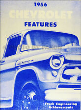 1956 Chevrolet Truck Engineering Features Manual Pickup Chevy Panel Suburban
