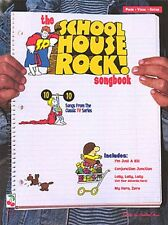 The School House Rock Songbook Sheet Music Piano Vocal Songbook NEW 002505514