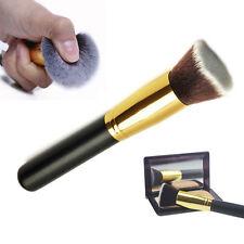 Kabuki Cepillo De Maquillaje Cosméticos Pincel Brocha Plano Cara Polvo Fundación
