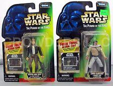 Star Wars PotF Bespin Han Solo & Lando Calrissian in General's Gear Freeze Frame