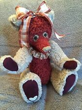Patches 16 Inches Handmade Artist Teddy Bear OOAK