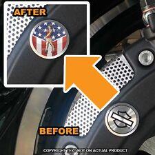 Brembo Front Brake Caliper Insert Set For Harley - GIRL USA FLAG - 036