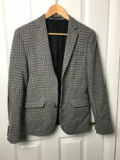 UK36 ASOS TWEED STYLE CORD ELBOW PATCH MENS SMART SUIT FORMAL TAILORED JACKET