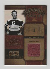 2004 DONRUSS CLASSICS JIM THORPE CANTON BULLDOGS GAME WORN JACKET JERSEY 131/150