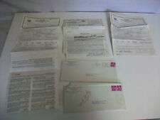 Lot Vintage London Guarantee And Accident Company Automobile Insurance Papers