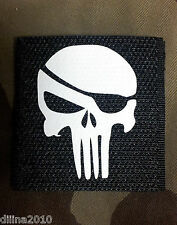 PATCH VELCRO NOIR - PUNISHER PIRATE - Airsoft NAVY SEAL SEALS US ARMY PAINTBALL