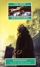 7th Dr Doctor Who Virgin New Adventures Book - BIRTHRIGHT - (Mint New)