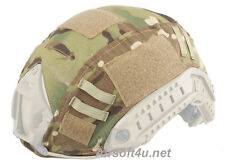 Tactical Airsoft Paintball Military Gear Fast Helmet Cover BJ PJ MH Multicam MC