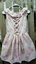 LIZ LISA Cinderella princess lace-up spring dress