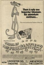 18/12/82Pgn20 Advert: Peter Sellers In trail Of The Pink Panther 7x5