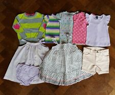 Baby girl GAP bundle shorts tops jumper dresses size 12-18 months  *immaculate*