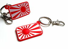 JDM keyring Rising SUN as sticker for Honda Nissan Mazda Toyota turbo key chain