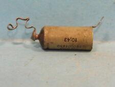 Kondensator aus einem Gerät der Wehrmacht. LgNr. W 898