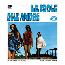 PIERO UMILIANI Le isole dell'amore O.S.T. LP  ltd.ed.