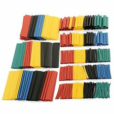 328 Pcs Car Electrical Cable Heat Shrink Tube Tubing Wrap Sleeve Assorted 8 Size