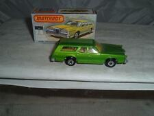 MATCHBOX SUPERFAST #74C COUGAR VILLAGER WITH ITS BOX PLEASE SEE THE PHOTOS