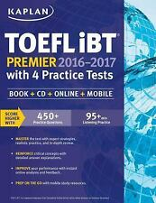 Kaplan Test Prep: Kaplan TOEFL IBT Premier 2016-2017 with 4 Practice Tests :...